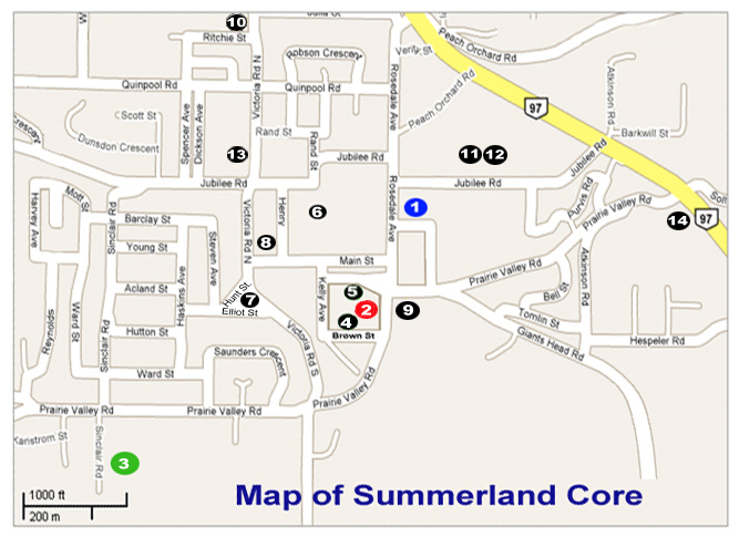 Summerland Map